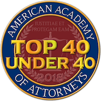 American Academy of Attorneys - Top 40 under 40