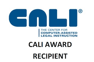 Cali Award recipient