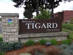 Welcome to Tigard Sign